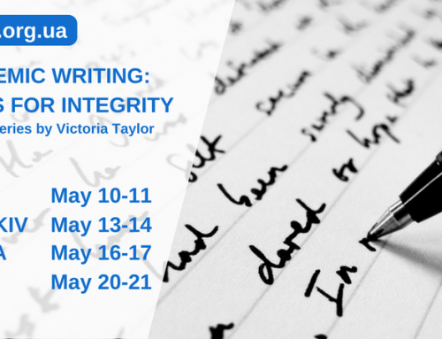 Academic Writing: Tools for Integrity. Training Series by Victoria Taylor